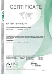 Requirements for medical purposes ISO 13485:2003 + Cor. 1:2009